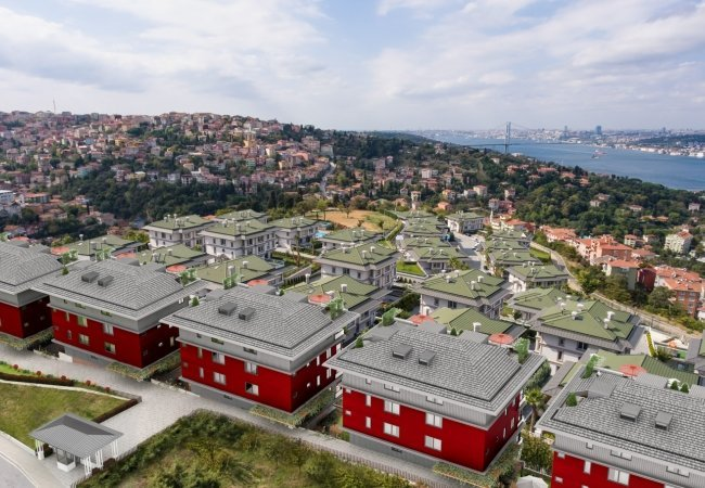 Smart Apartments in Complex with Fantastic Views in Uskudar