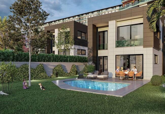 Sea View Villas with Private Pools in a Complex in Kocaeli