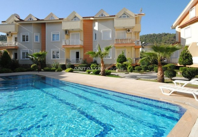 Furnished Duplex Apartments in the Center of Kemer