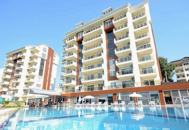 Exclusive Apartments Near the Beach in Alanya