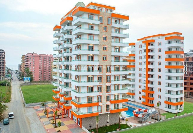 High Quality Apartments with Rich Social Facilities in Alanya