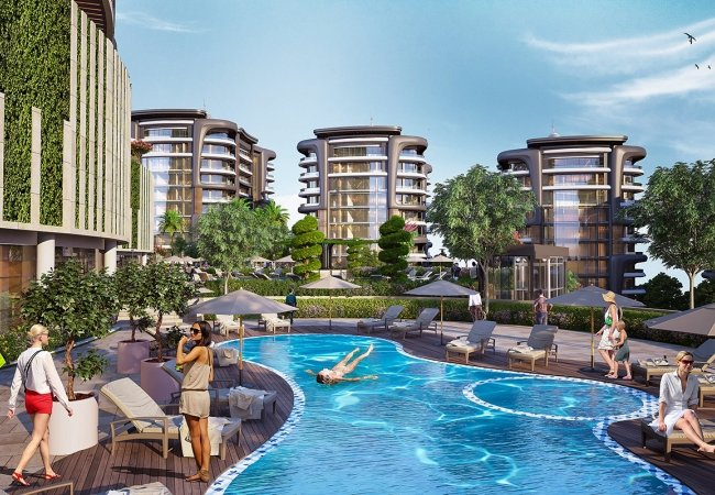 Luxury Flats for Sale Suitable for Investment in Kocaeli