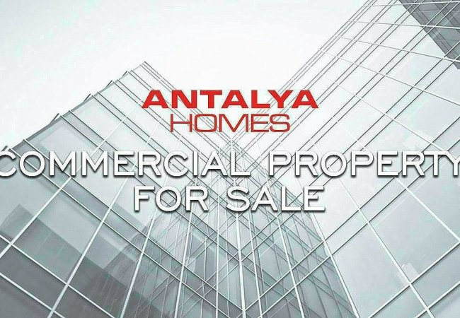 Investment Shop with High Rental Income in Alanya