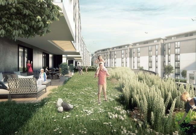 Low-rise Apartments with Golden Horn View in Eyüp İstanbul