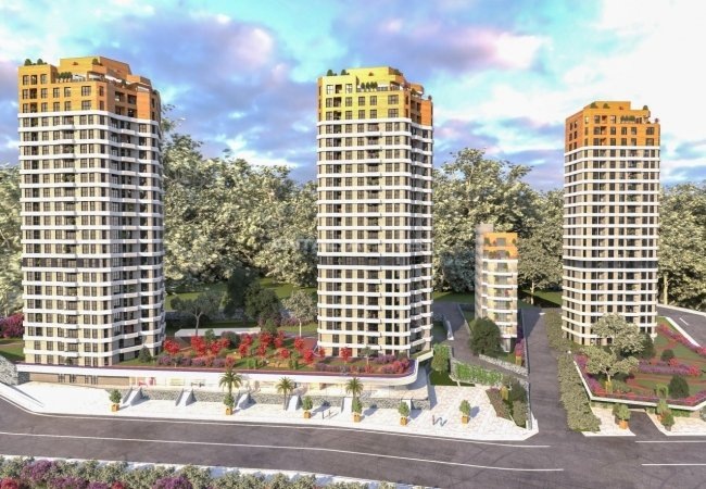 Sea and Nature View Real Estate in Istanbul Kartal