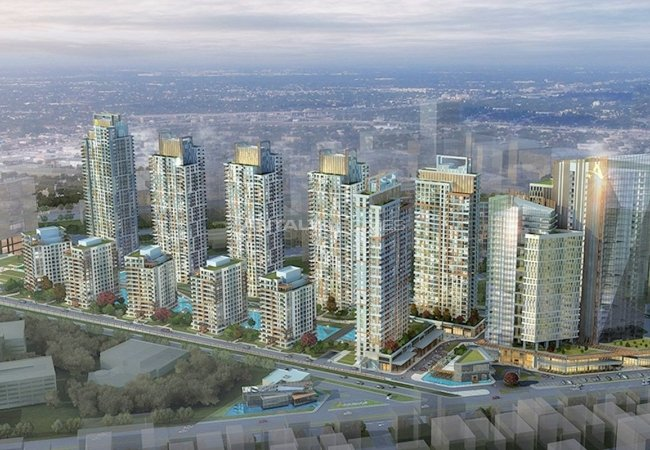 Luxury Apartments in Istanbul Within the Mixed-use Project