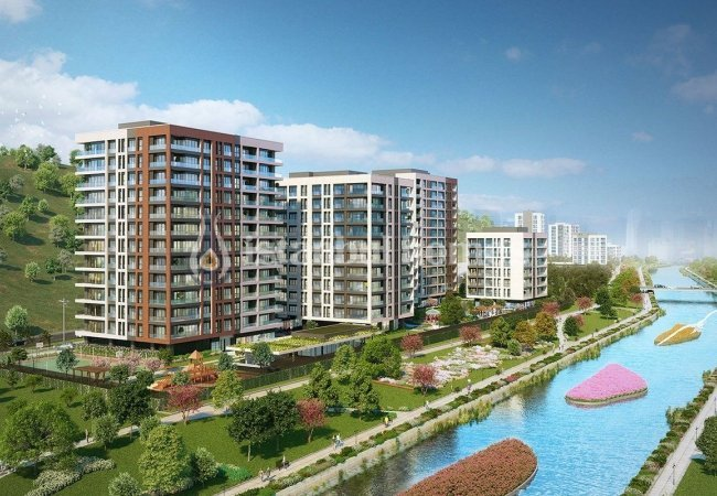 Exclusive Apartments in Kağıthane with Rich Facilities