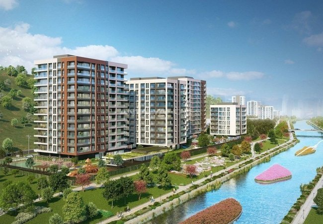 Apartments for Sale Full of Unique Beauties in Kağıthane Istanbul