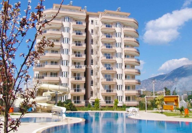 Sea-view Apartments Walking Distance to the Sea in Alanya