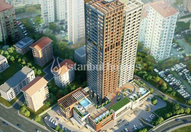 Panoramic City View Real Estate in Kadikoy, Istanbul