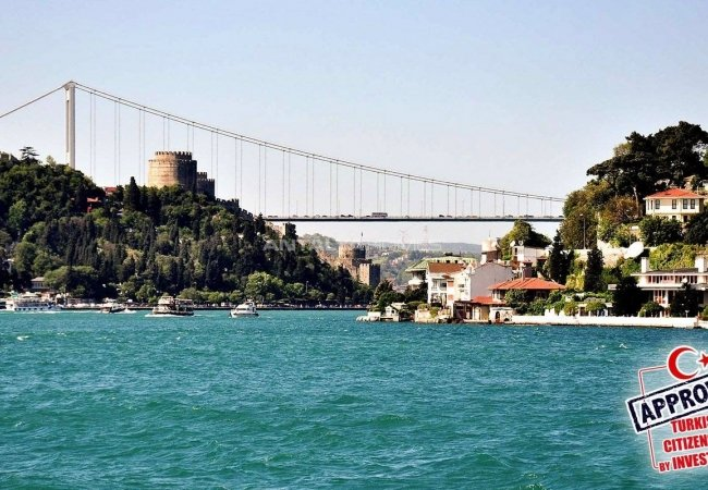 Historical Mansions Surrounded by All Amenities in Sariyer