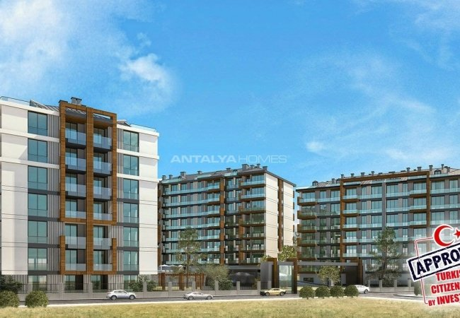 Contemporary Designed Sea View Apartments in Istanbul