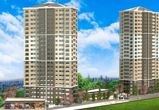 Modern Kartal Apartments with Smart Technology in Istanbul