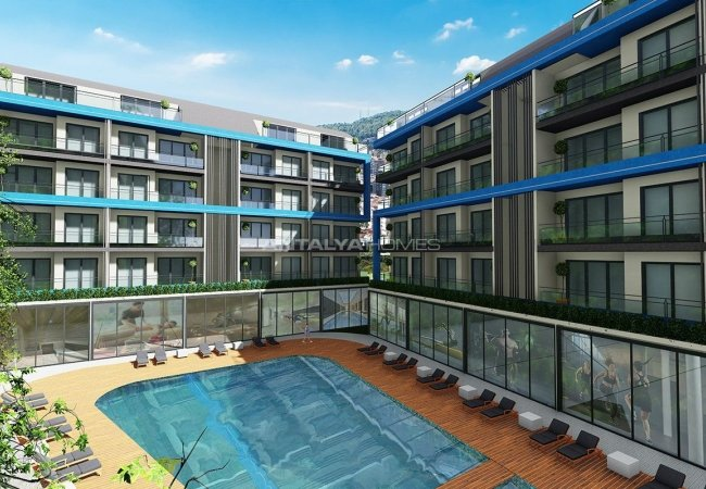 Luxury Apartments with Nature View in Oba Alanya