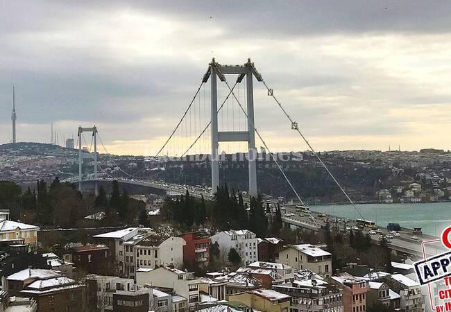 Квартиры в Бешикташе с Захватывающим Видом на Босфор