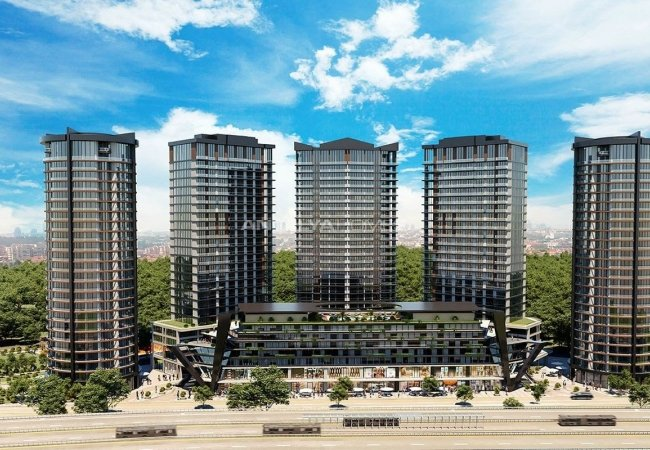 Award-winning Apartments Designed with Hotel Concept in Istanbul