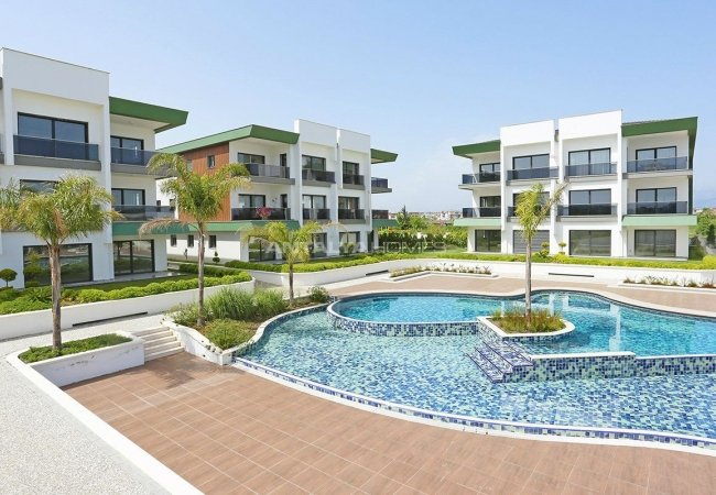 Riverfront Apartments with Private Marina in Manavgat