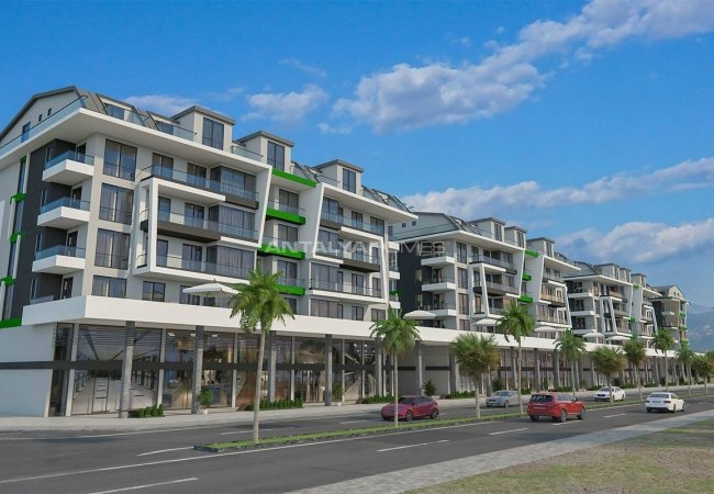 Contemporary Apartments 50 Mt to the Beach in Alanya
