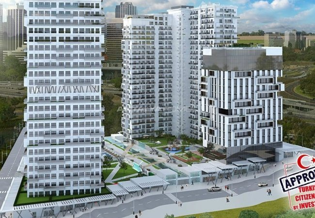 New-built Investment Shops Close to Social Amenities in Istanbul