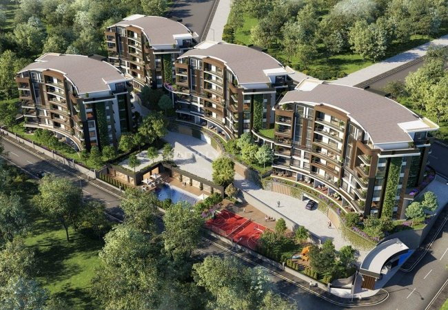 Properties in a Complex with Rich Facilities in Kocaeli