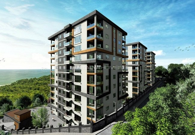 New Trabzon Apartments with High Investment Potential