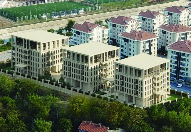 Smartly Designed Deluxe Apartments in Nilufer Bursa
