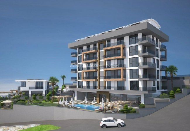 Apartments with Excellent City and Nature Views in Alanya