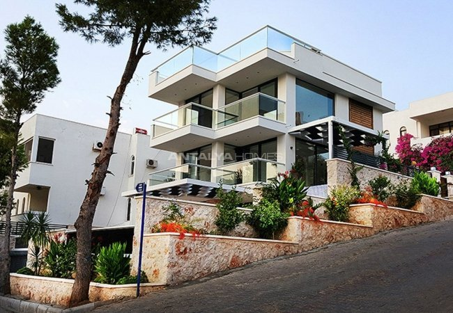 Exclusive Triplex Villa in Kalkan with Private Features