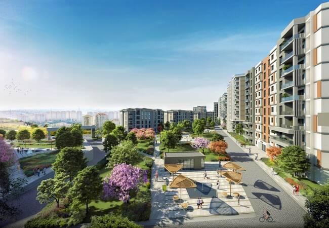 Real Estate in Basaksehir Within Walking Distance to Amenities