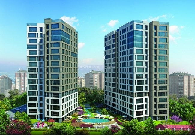 Istanbul Apartments Close to All Amenities in Maltepe