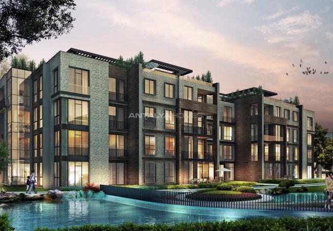 High-quality Apartments in an Elite Complex in Beykoz