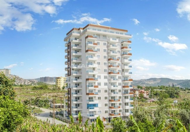 Ready to Move Apartments Close to the Beach in Alanya for Sale