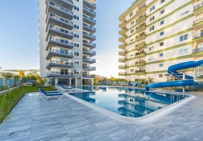 Unique Apartments with Favorable Features in Alanya