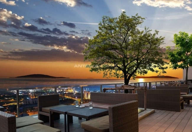 Apartments of Mixed Project with Shopping Mall in İstanbul