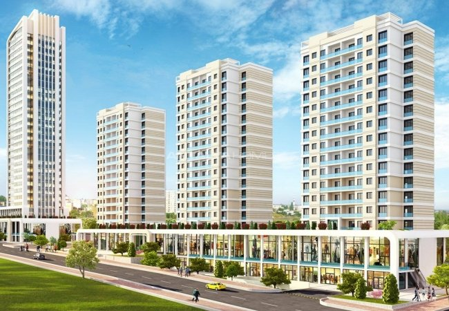 Great Apartments for Sale with Unique Concept in Istanbul