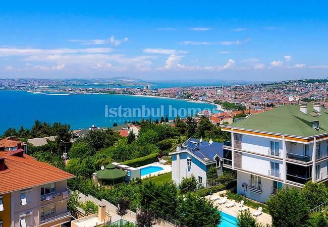 Недвижимость в Бююкчекмедже, Стамбул с Видом на Море