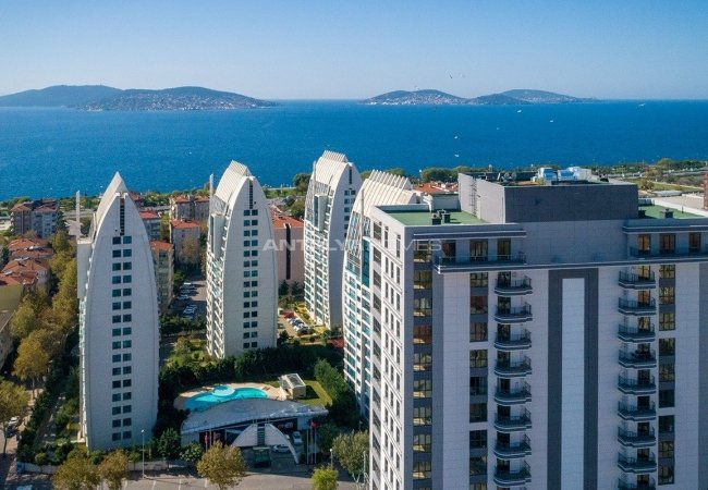 Mesmerizing Sea & Island View Apartments in Kartal Istanbul