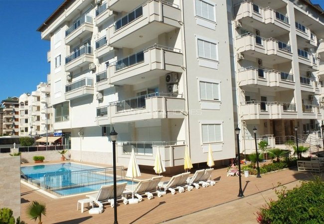 Recently Completed Alanya Property Surrounded by Social Features