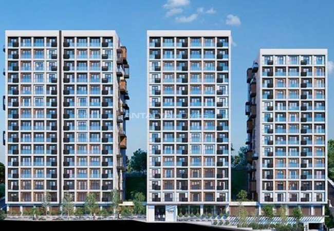 Istanbul Flats Surrounded by Social Facilities in Kagithane