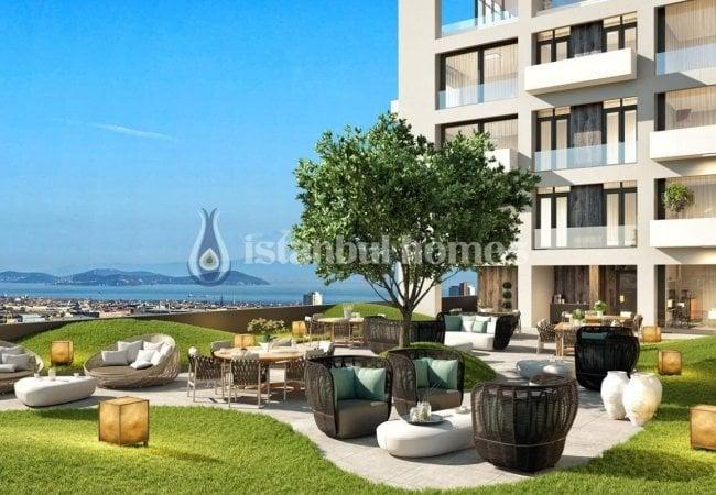 Properties with Island View and En-suite Bathrooms in Istanbul Kartal