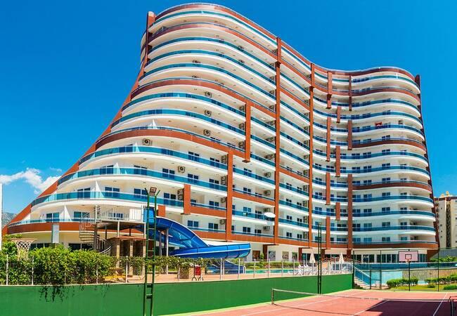 Hotel Concept Properties with Sea View in Alanya Mahmutlar