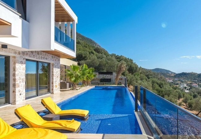Furnished Duplex House in the Tranquil Location of Kalkan