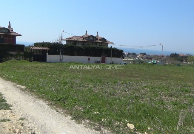 Investment Land Suitable for Villa Construction in Istanbul