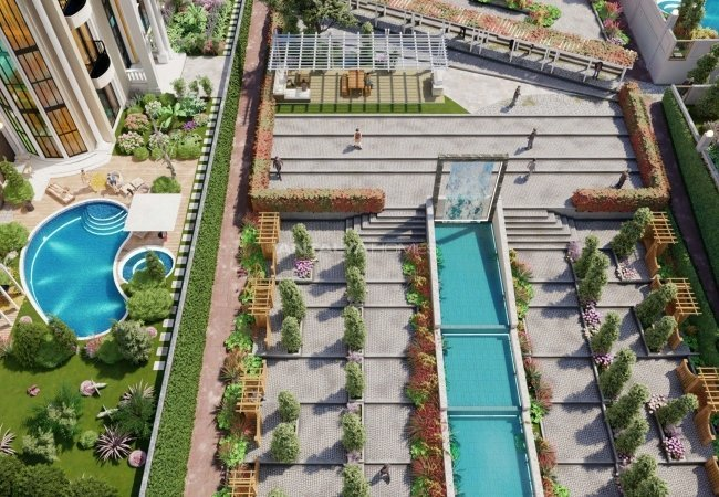 Capacious 4 Storey Villas with Swimming Pool in Istanbul