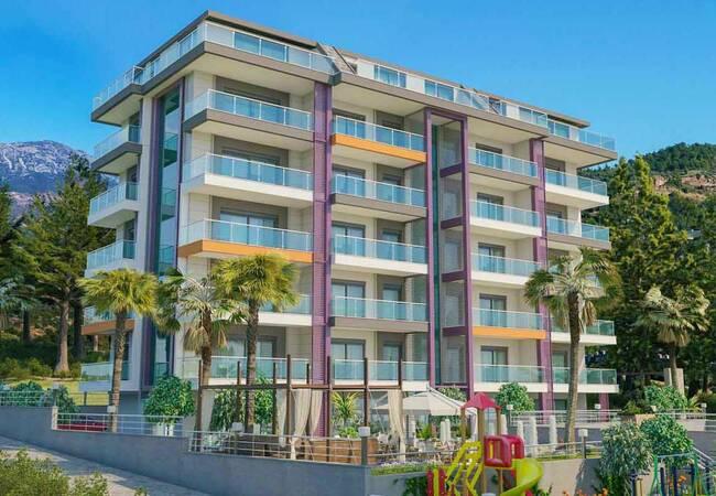 Well-located Properties in Alanya Kargicak by the Seaside