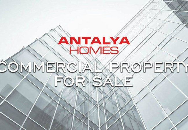 Investment Shops and Offices in Antalya's Commercial Zone
