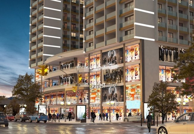Commercial Properties Close to Metro Station and Marmaray in Tuzla