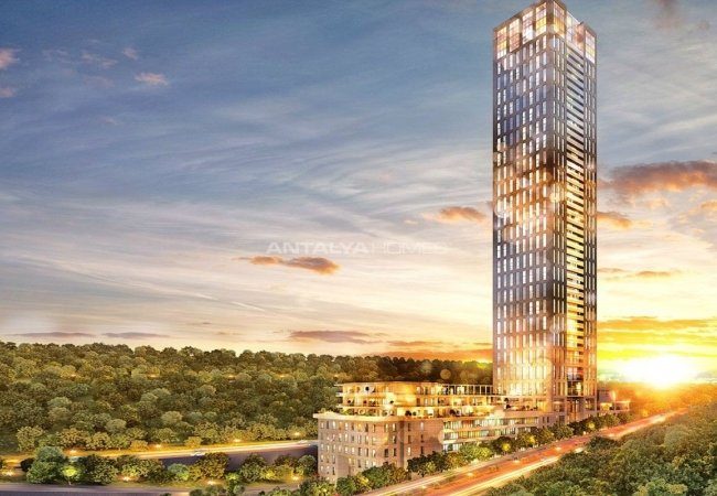 Luxury Apartments for Sale in European Side of Istanbul