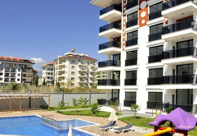 Lovely Alanya Apartments 100 M to the Sandy Beach