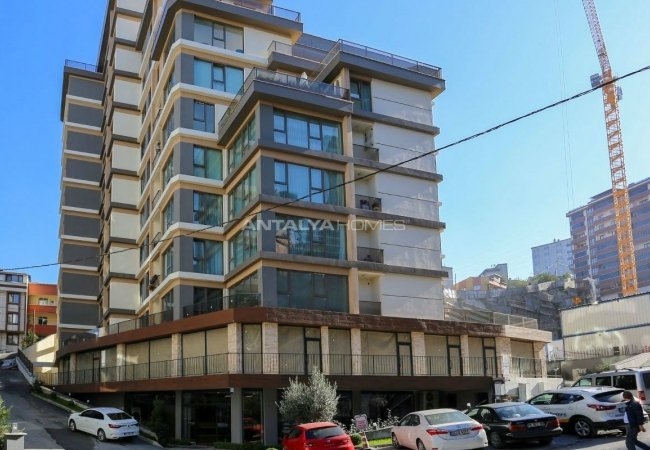 New Built Real Estate with Shopping Street in Istanbul
